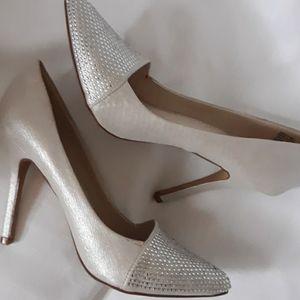 NEW Sz 8 rhinestone pumps Apt 9 gorgeous heels!!